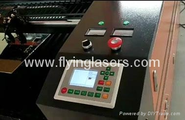 Dual heads Co2 laser cutting engraving machine for wood acrylic  6