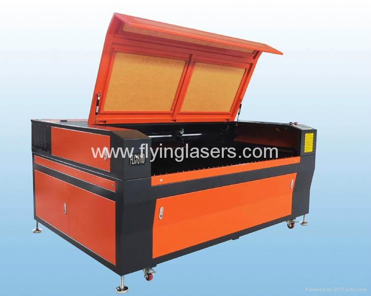Dual heads Co2 laser cutting engraving machine for wood acrylic  3