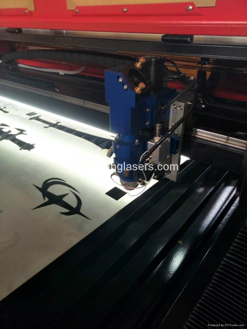 FLC1325A co2 laser cutting machine for metal and nonmetals 8