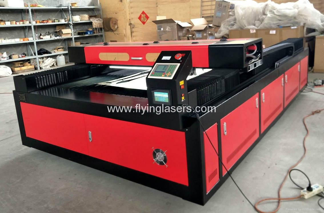 FLC1325A co2 laser cutting machine for metal and nonmetals 3