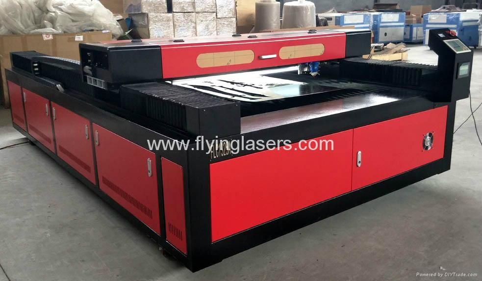 FLC1325A co2 laser cutting machine for metal and nonmetals 2