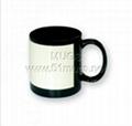 Sublimation Mug-Black Coated Mug with