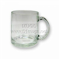 10oz Glass Coated Mug-Cl