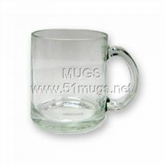 10oz Glass Coated Mug-Cl