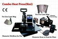 8in1 sublimation Combo Transfer Heat Press Machine