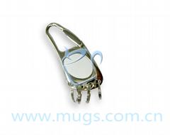 方形挂鉤  鑰匙扣 鑰匙圈 可印圖鑰匙扣 個性鑰匙扣