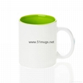 Sublimation Blank Coated Two-Tone Mug