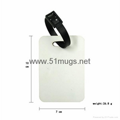 Sublimation MDF Bag Tag Luggage Tag