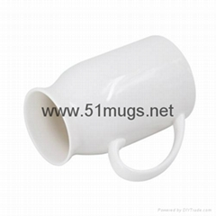 Sublimation Milk Mug-Big