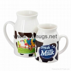 Sublimation Milk Mug-Sma