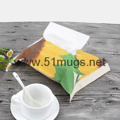 Sublimation Poly-Cotton Facial Tissue Bag 2
