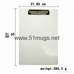 Sublimation MDF Clip Board-Big