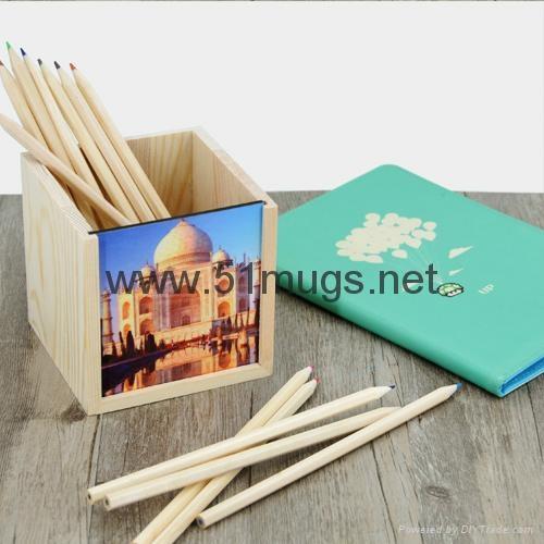 Sublimation HB Pencils containe 3