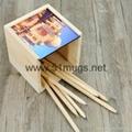 Sublimation HB Pencils containe 5