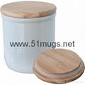 """6.5"""" Sublimation Cook Jar"""