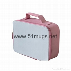 Sublimation Insulated Lunch Bag-pink