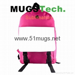 Sublimation Computer Bag With Earphone Holes-Rose Carmine