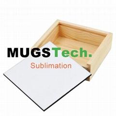 Sublimation Hardboard Wood Storage box
