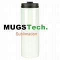 18oz Sublimation Thermal Tumbler-White