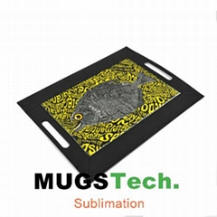 Sublimation Serving Tray PU-Artificial Leather