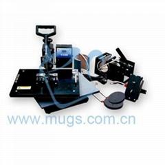 Combo Heat Press Machine-multifunctional sublimation machine (Hot Product - 1*)