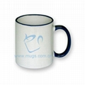 Tow-tone Mug(color handle) 11oz mug