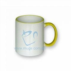 Tow-tone Mug(color handl