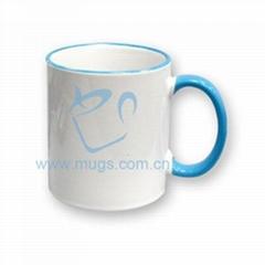 11oz Tow-tone Mug(color