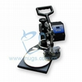 Mini Plate Press-sublimation heat press machine-for Dishes