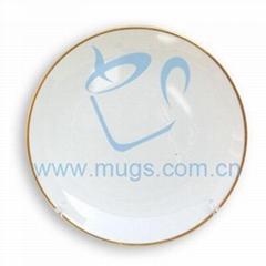 熱轉印塗層盤子-8寸月光盤 塗