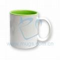 Sublimation Blank Coated Two-Tone Mug