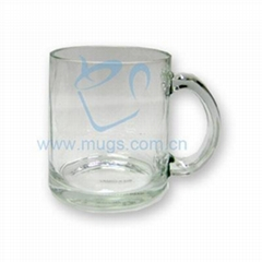 Glass Coated Mug-Clear