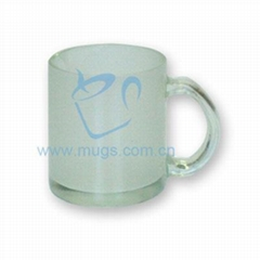 10oz Glass Mug-Frosted wtih high quality