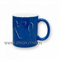 Color Changing Mug -- Bl