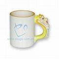 11oz sublimation Animal Mug-Dragon