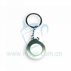 熱轉印鑰匙扣 小拉尺 個性鑰匙扣 印象鑰匙扣 熱轉印個性