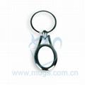 热转印钥匙圈 钥匙扣 椭圆形
