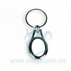 熱轉印鑰匙圈 鑰匙扣 橢圓形 個性鑰匙扣 塗層鑰匙扣