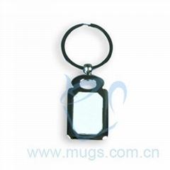 熱轉印長方形鑰匙扣 燙畫鑰匙扣 影像鑰匙扣 塗層鑰匙扣