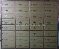 溫州中央公館不鏽鋼信報箱