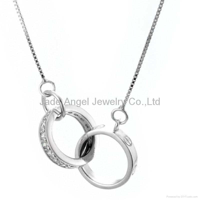 925 Sterling Si  er Pendant Necklace  1