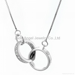 925 Sterling Silver Pendant Necklace