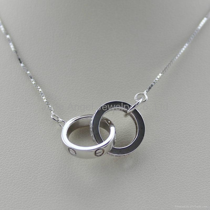925 Sterling Silver Pendant Necklace China Manufacturer