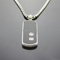 David Yurman Men's Jewelry Black Onyx Dog Tag  1