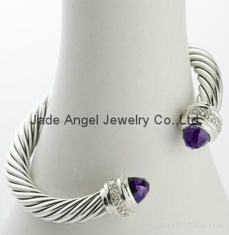 David Yurman Designer Inspired Jewelry Pearl Silver Ice