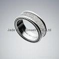 David Yurman Men's Jewelry White Diamond