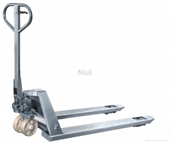 stainless pallet truck