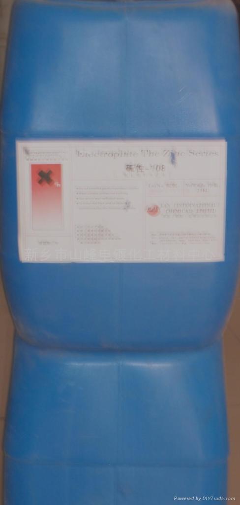 供应碱性-108镀锌光亮剂  1