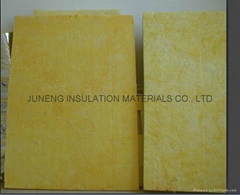 Fiberglass insulation board glasswool board