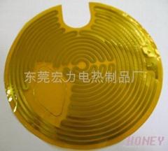 PI金属电热膜